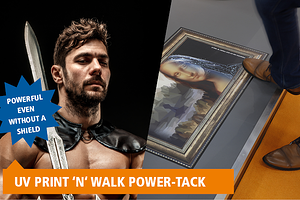 UVPRINT 'N' WALK POWER-TACK